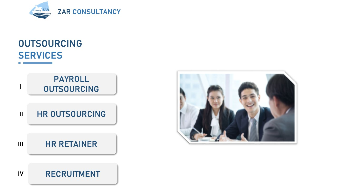 ZAR Consultancy Outsourcing Services